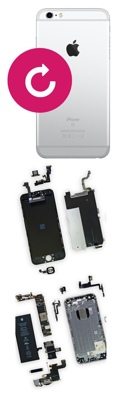 Замена корпуса на iPhone 6, 6 plus в Екатеринбурге