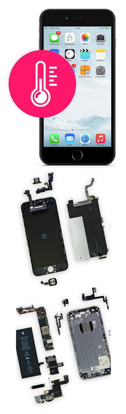 Нагревается iPhone в Екатеринбурге